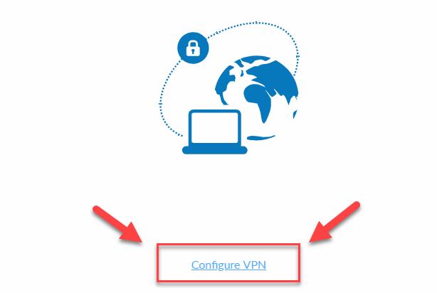 Forti VPN Configure VPN